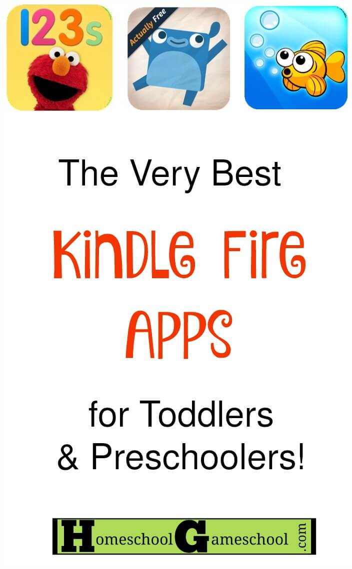 The Best Kindle Fire Games for Toddlers & Preschoolers