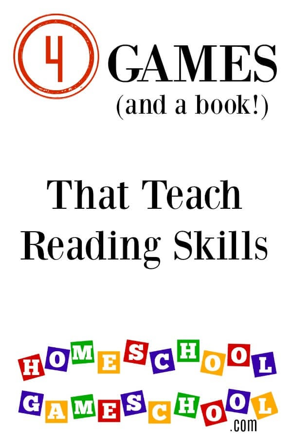 Four Games that Teach Reading