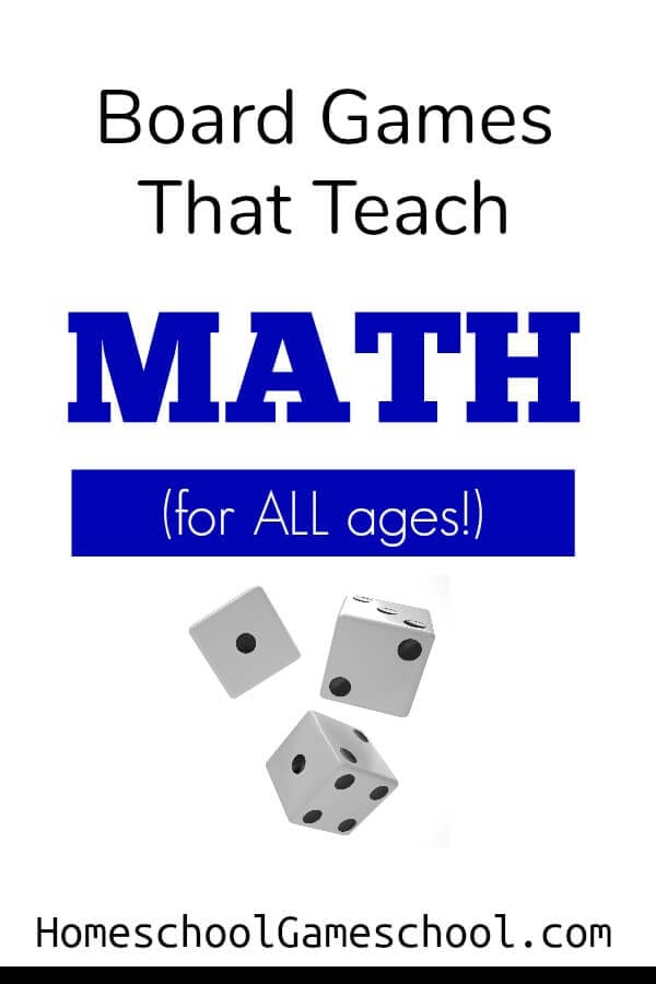 Board Games for Math