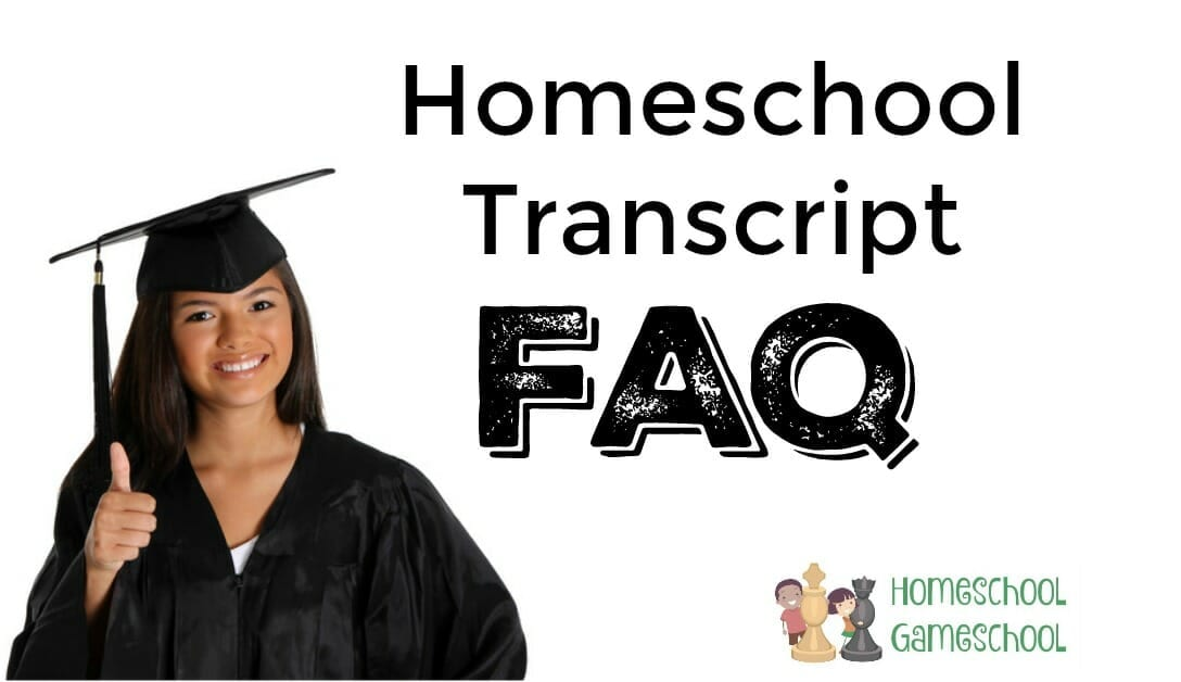 Creating a Homeschool Transcript - Secular Homeschooling at HomeschoolGameschool.com