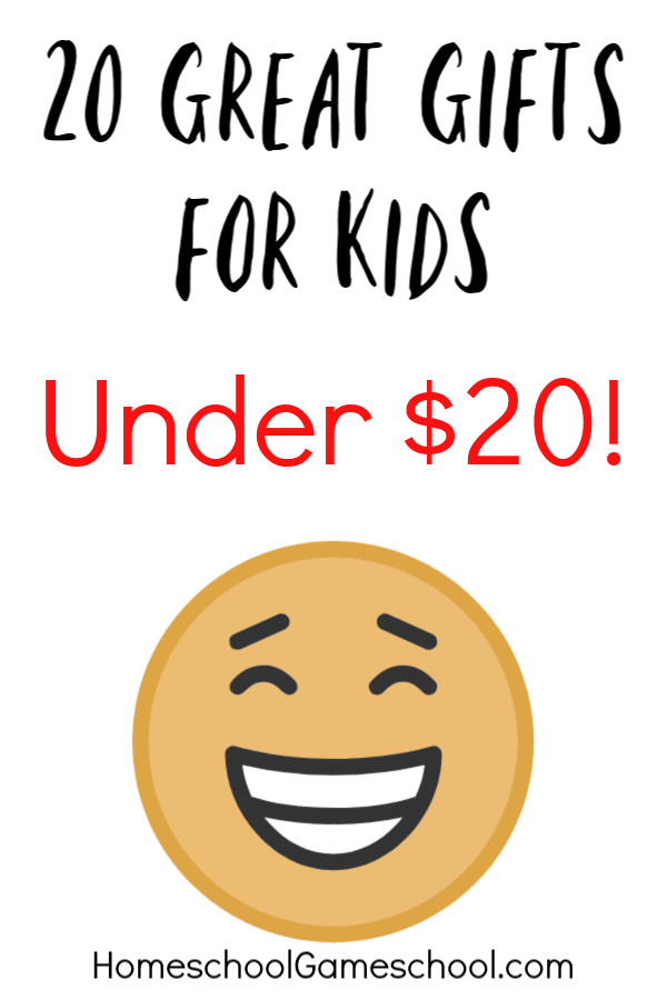 20 gifts for kids under $20