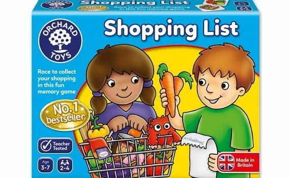 Shopping List Memory Game Review, Gameschooling & Secular Homeschooling @ HomeschoolGameschool.com