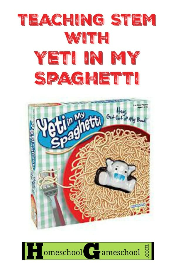 STEM with Yeti in My Spaghetti