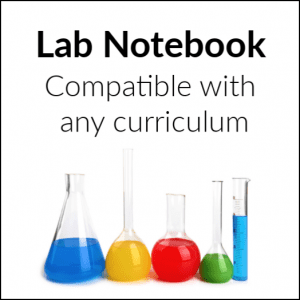 Printable Science Lab Notebook - HomeschoolGameschool.com