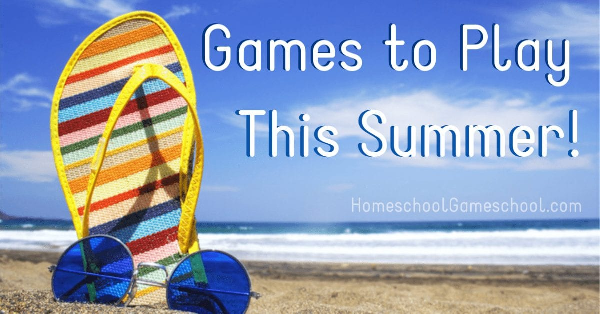 Summer Games : Board Games to Play This Summer