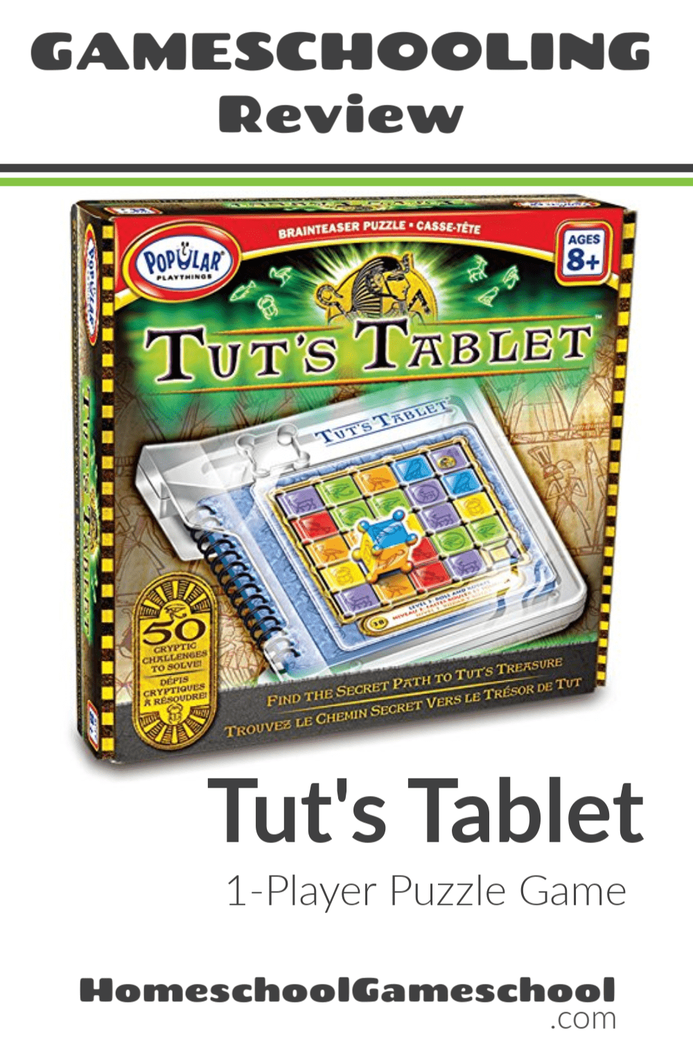Tut's Tablet Review