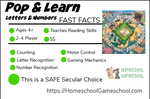 Pop and Learn Lakeshore Review - Gameschooling & Secular Homeschooling @ HomeschoolGameschool.com