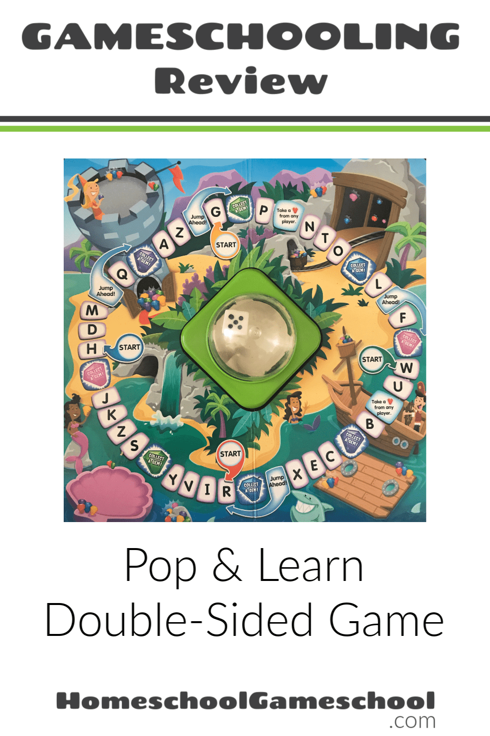 Pop & Learn Math/Reading Game Review