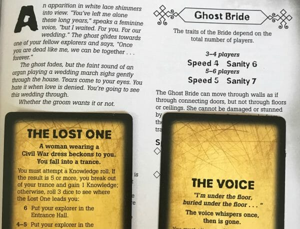 Betrayal at House on the Hill - Gameschooling and educational game reviews at HomeschoolGameschool.com