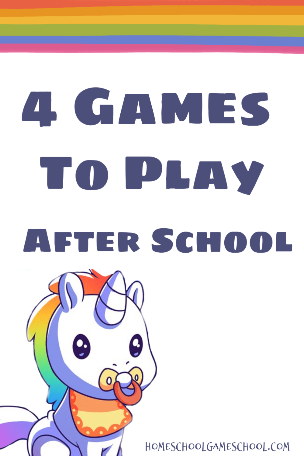 4 Games to Play After School