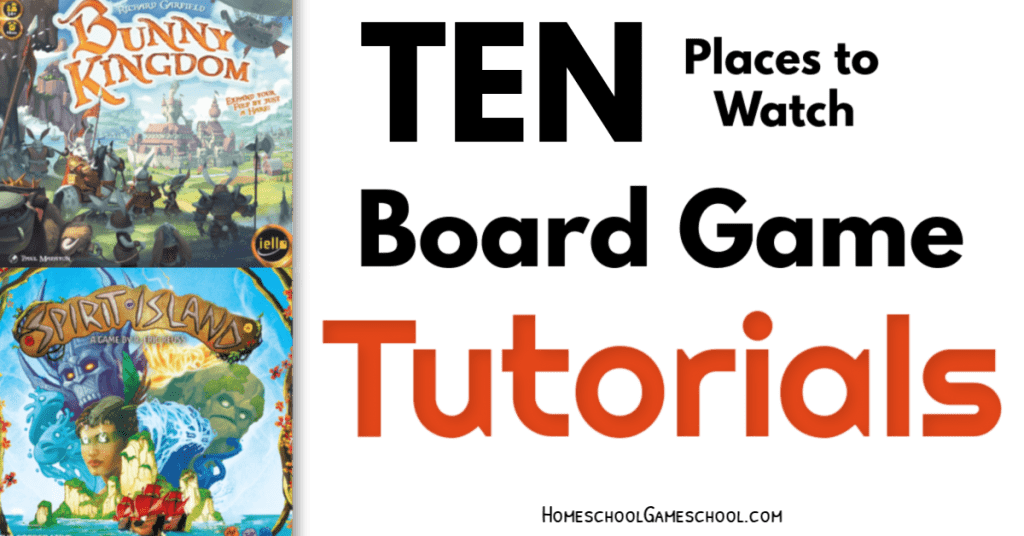 Ten Places to Watch Board Game Tutorial Videos