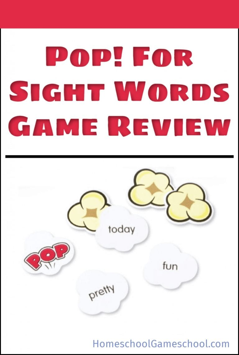 Pop for Sight Words Game Review