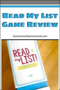 Read My List Game Review