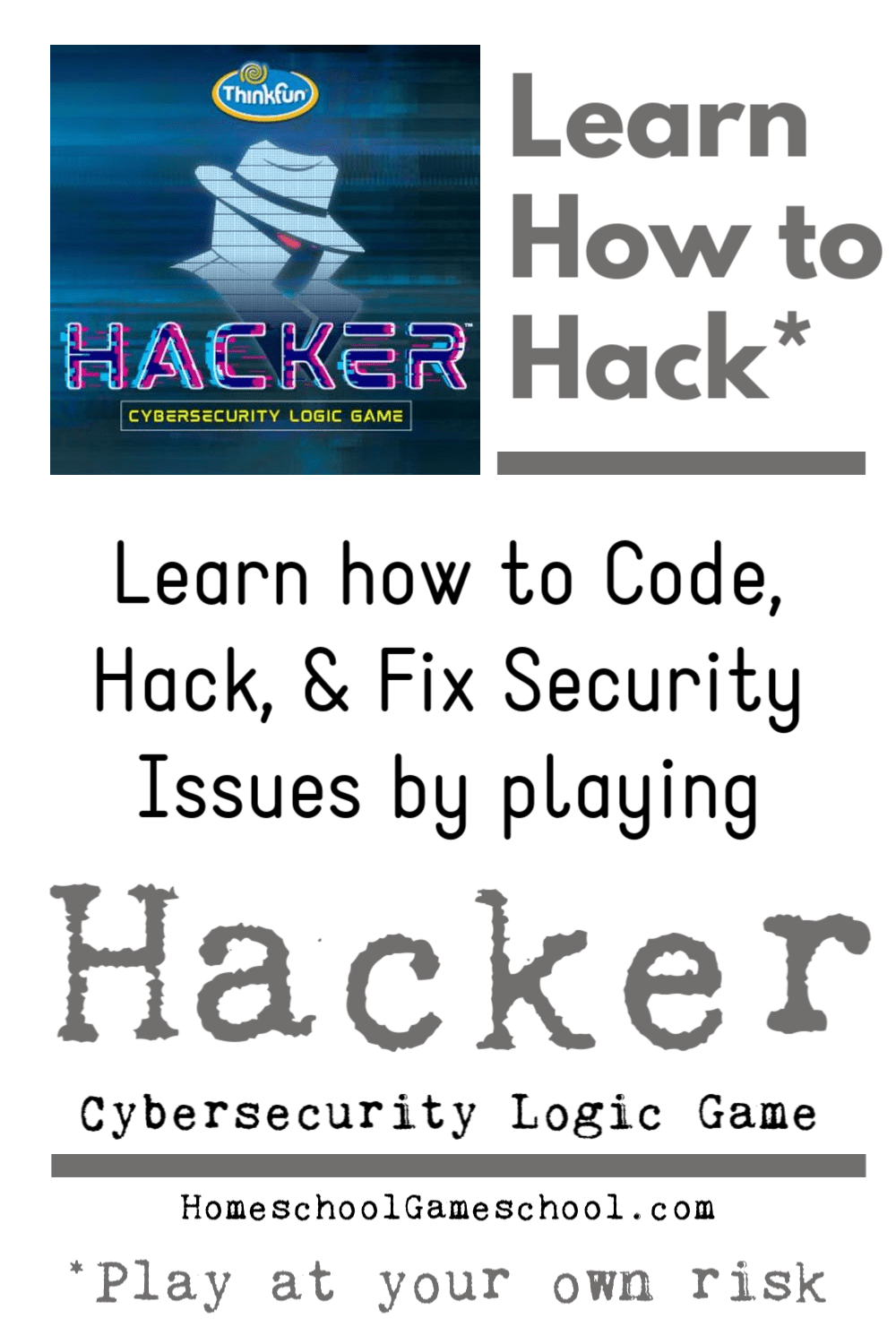 Hack Cybersecurity Logic Game