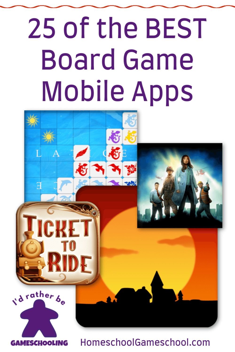 Family Friendly Mobile Board Game Apps