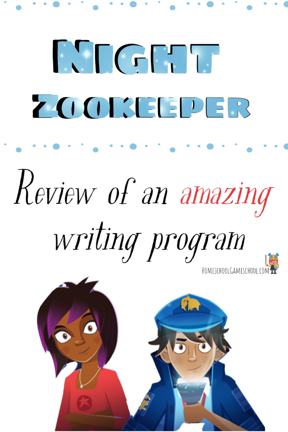 Review & playthrough of Night Zookeeper