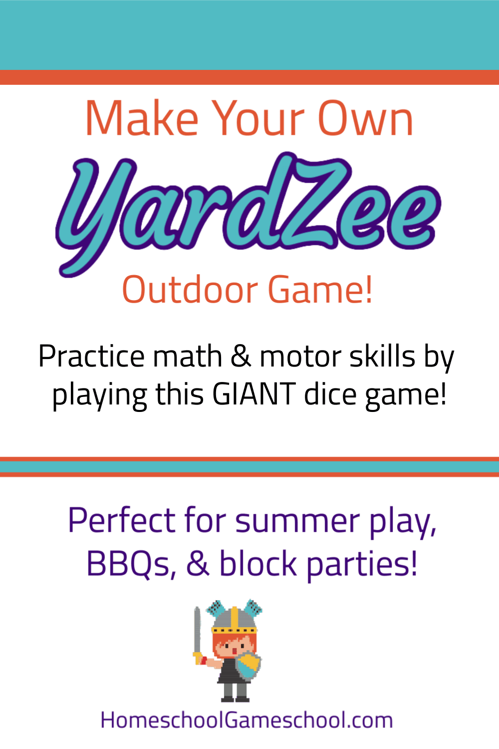 Make Your Own Yardzee Game