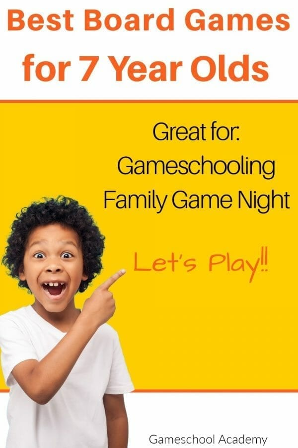 Games for 7 Year Olds