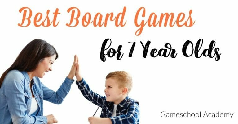 The Best Games for 7 Year Olds