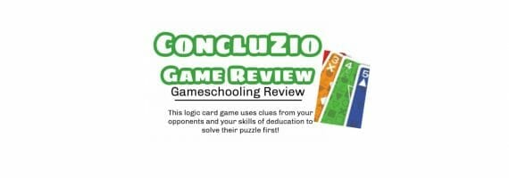Concluzio Review, Gameschooling @ Gameschool Academy